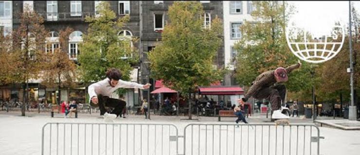 寻找不一样的地形!Nike SB旗下滑手最新法国之旅开启!