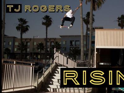 本周出镜率最高滑手!TJ Rogers最新「RISING」个人片段出炉
