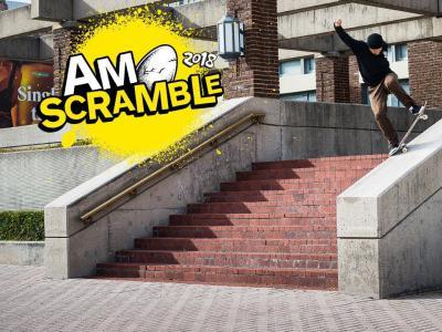 滑板狂人Gabriel Summer生素材剪辑「Am Scramble」恐怖来袭!