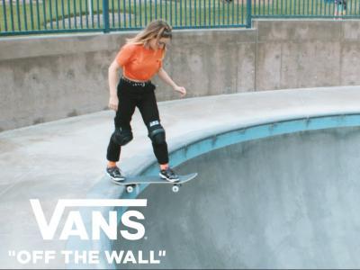 滑板新风潮来袭——Vans旗下女滑手争做引领者