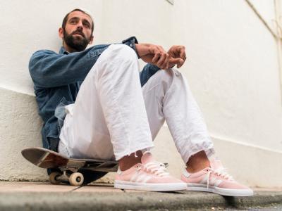 Lucas Puig 法国浪漫配色Adidas滑板战靴发布!