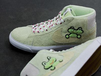 Nike SB X Frog超萌小青蛙合作款 | 十天宣传影片发布!