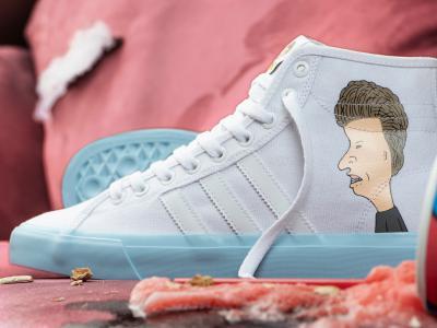 adidas Skateboarding 发布「瘪四与大头蛋」合作款新品!