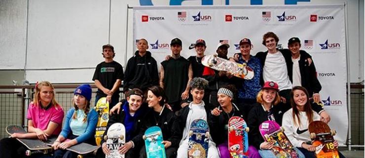 美国奥运滑板队正式成立,阵容名单如下!