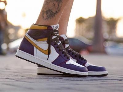 Nike SB x Air Jordan 「Laker」买一双赚两双!?
