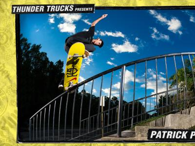 Thunder Trucks出品:滑手Patrick Praman首部个人影片!