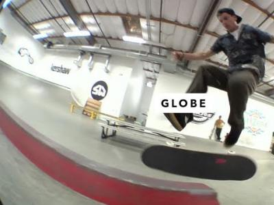 Globe三员出动,畅滑燥翻TWS板场