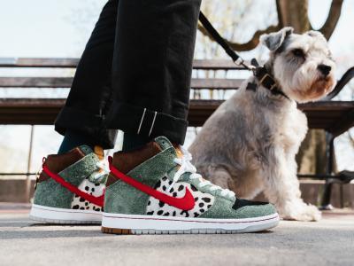 你要有踩狗屎的运气,才能买到这双NikeSB DunkHigh 「Dog Walker」