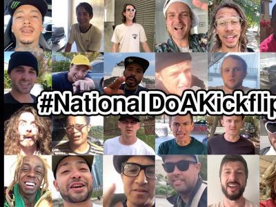 Do A Kickflip!快来火速庆祝第一个世界尖翻日!