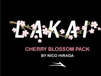 浪漫樱花元素!滑手Nico Hiraga最新Lakai滑板鞋吸睛十足