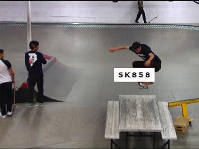 TWS板场最新来宾,SK858队伍燥翻全场!