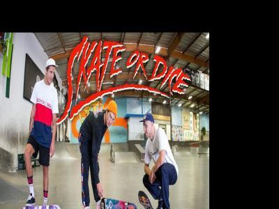 俄罗斯奥运滑板队队员与色娃喜逢「Skate or Dice」