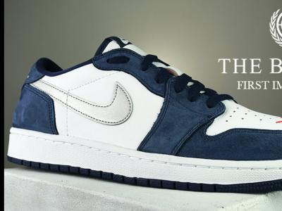 一睹为快! The Eric Koston Nike SB联名Jordan 1低帮滑板鞋实测