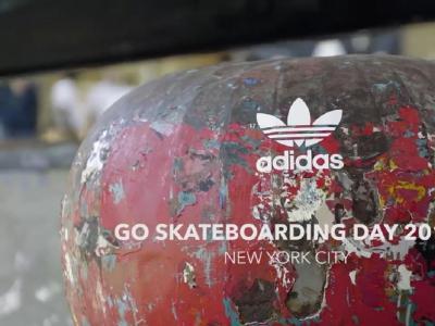 Adidas世界滑板日——燥动