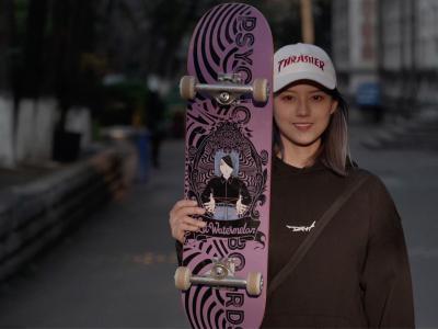 小西瓜正式晋升为Psychos首位女子职业滑手,个人板面发布