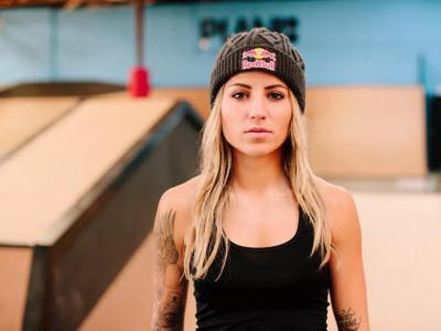 【盘问】巴西女将Leticia Bufoni:奶伽穿紧身裤滑板是跟我学的