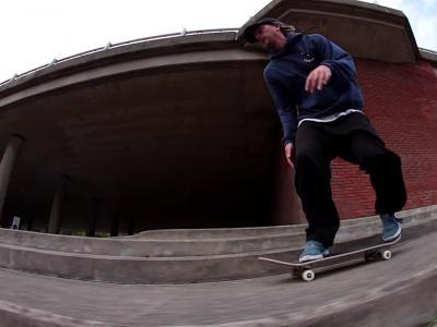 尽显滑板艺术,Mark Baines影片「Edison」个人片段发布