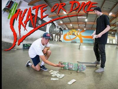 Aurelien Giraud作客Berrics栏目「Skate Or Dice」,谁输谁赢?