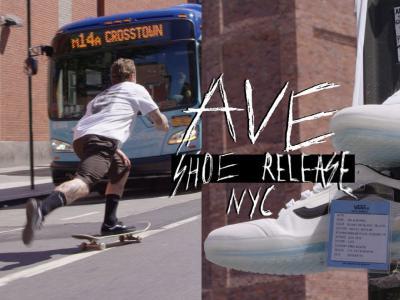 VANS队伍纽约行,庆贺第十双AVE Pro滑板鞋发布