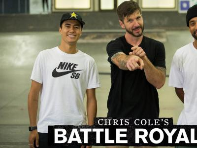 Chris Cole,Maurio McCoy等五位滑手,共同作客Battle Royale