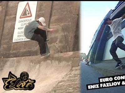 OJ Wheels最新出品:Eniz Fazliov & Jake Collins携手拍摄欧洲片段
