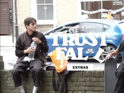 Nike SB滑板大片「Trust Fall」额外镜头大放送|Donovon & Daan