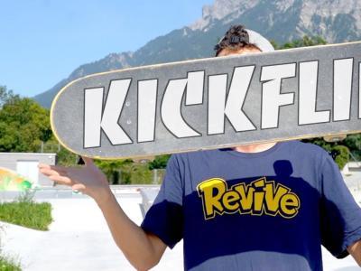 [中文字幕]尖翻太难了,十种Kickflip大家认领一下!