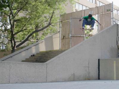 美国棕榈湾24岁黑人滑手Ish Cepeda最新个人影片Get to Scrolling