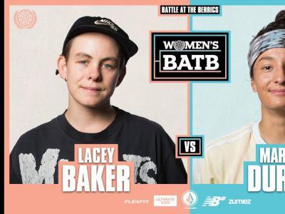 WBATB首场比赛开战!Lacey Baker vs. Mariah Duran