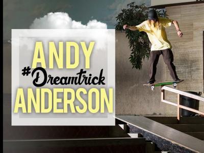 新一期#DreamTrick!Andy Anderson挑战50-50新玩法
