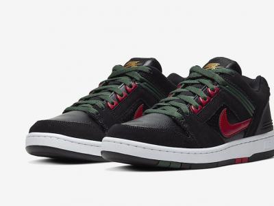 Gucci既视感?Nike SB奢滑配色Air Force 2 Low 即将发售!