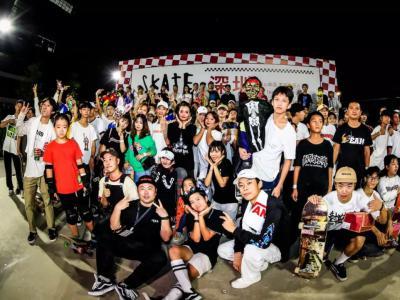 奇妙万圣节,Vans Skate Fry -days 滑板星期五深圳1985完美收官!
