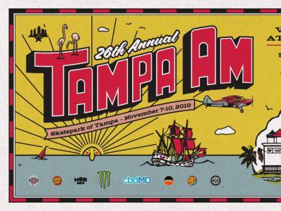 日本滑手再度霸榜冠亚军,2019 Tampa AM完整赛事精彩回顾!