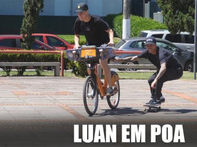 逗逼Luan回到巴西滑板的一个上午,浑身上下都是喜剧细胞!