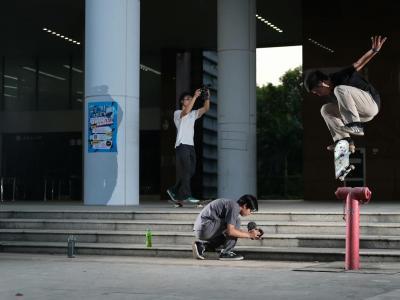 【WHATSUP WKND】#271 广东工业大学,用滑板记录毕业前的美好