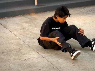日本15岁天才滑板少年,山下京之助的可怕进步速度!