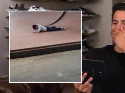 顶级职业滑手P-rod,看网红滑板小视频是什么反应?