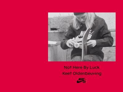 被铁路公司赞助的滑手,Keet Oldernbeuving展现