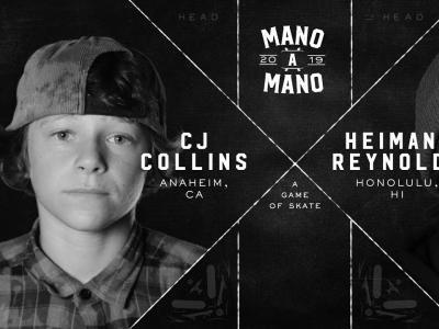 2019Mano A Mano最新一局:CJ Collins vs. Heimana Reynolds