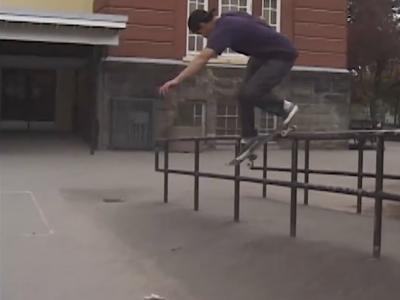 加拿大滑手Ryan Siemens影片「HITTIN」个人片段发布