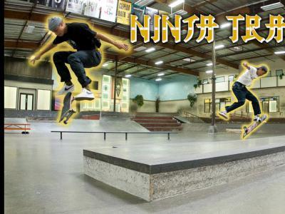 Flip Skateboards旗下AM滑手作客berrics板场忍者训练