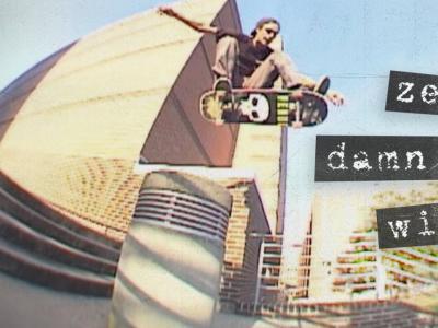炸裂滑手Chris Wimer ZERO新片「Damn It All」个人片段发布