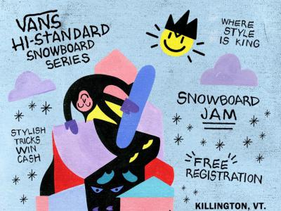 Vans 公布2020赛季 Hi-Standard Snow Series 滑雪世界巡回赛赛程