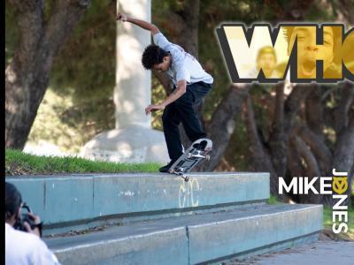 这家伙是谁?!滑手Mikey Jones最新个人片段发布