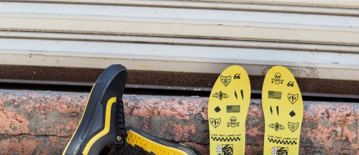 搭载新科技,Vans 发布 Larry Edgar Old Skool Pro BMX 签名鞋款