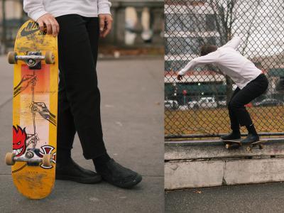 拒绝被定义,Leo Baker x Nike SB Orange Label新品上市