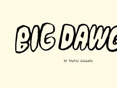 Chocolate x 洛杉矶艺术家Travis Millard合作款「Big Dwags」板面