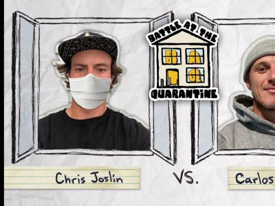 BATB平地大战疫情隔离版:Chris Joslin Vs. Carlos Ribeiro