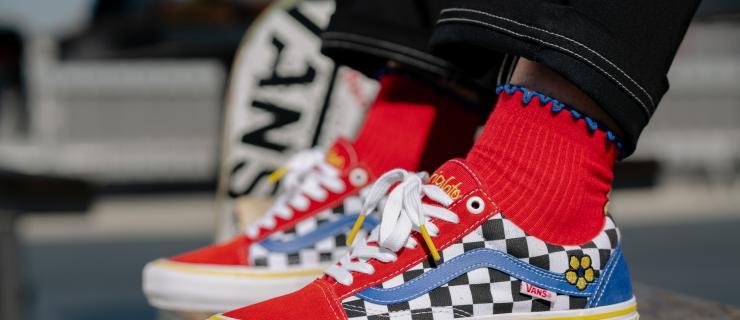 奥运热门选手 Brighton Zeuner 推出个人首个 Vans 配色鞋款服饰