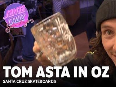 「Santa Cruz Saturdays」系列回归,Tom Asta澳大利亚滑板生活!
